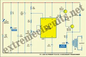 Electric Fence Circuit Diagram 12v