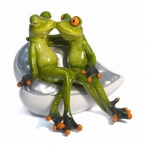 Frosch Bilder Lustig : frosch paar auf sofa geschenkhaus bellm ~ Whattoseeinmadrid.com Haus und Dekorationen