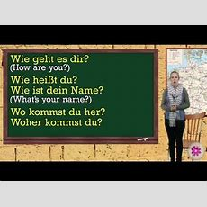 German Lesson 18  How To Pose A Question  German Lessons  Pinterest  Deutsch Lernen, Deutsch