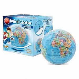 Mini Globe Terrestre : jouet globe terrestre en fran ais petit globe terrestre pas cher achat globe terrestre avec lumi r ~ Teatrodelosmanantiales.com Idées de Décoration