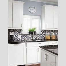 Glass Tile Backsplash Inspiration  Delightful Kitchen