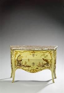 Pierre Macret 1727 1796 Commode Laque Vert Et Bronze