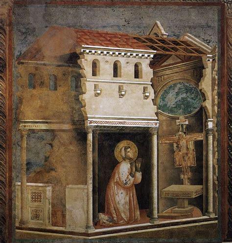 franois d assise biographie courte giotto di bondone fresques de la vie de fran 231 ois d assise 4 le crucifix de