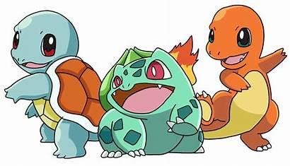 Pokemon Kanto Starters Deviantart Charmander Pikachu Squirtle
