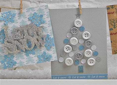 craft card ideas how to make a button tree card hobbycraft 1452