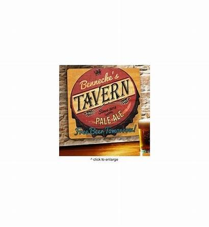 Bar Wood Wooden Signs Personalized Tomorrow Beer