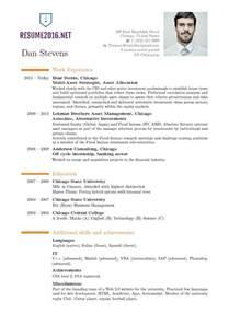resume format 2016 resume format trends