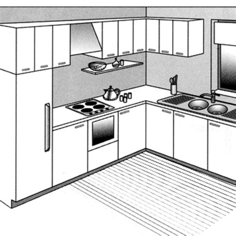plan cuisine americaine 12 plans pour une cuisine ouverte côté maison