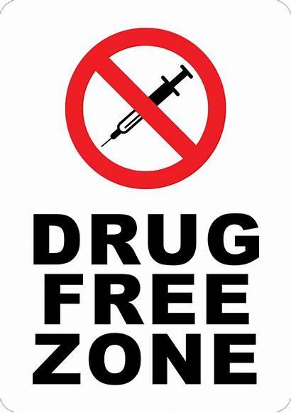 Drug Zone Drugs Signs Alcohol