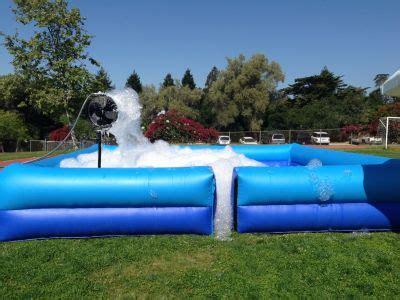Inflatable Foam Machine Rentals, Los Angeles Foam Machines ...