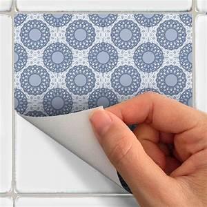 Stickers Carreaux De Ciment : 16 stickers carreaux de ciment scandinave arctique salle ~ Melissatoandfro.com Idées de Décoration