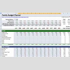 Lay It All Out With Family Budget Planner For Excel Pcworld