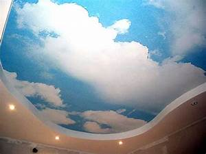Contemporary Ceiling Designs With Led Lights For Romantic