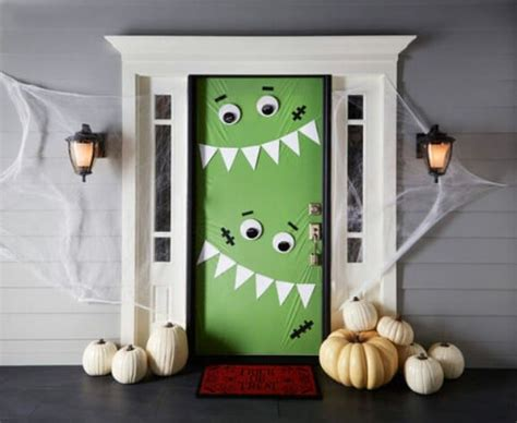 diy halloween door decor ideas style motivation