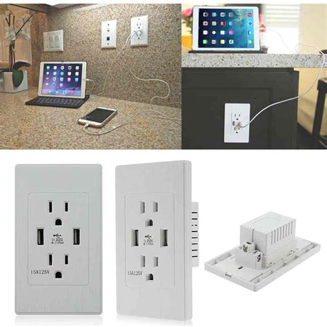 hotel ls with outlets and usb 2017 high quality high speed usb wall socket us plug dual