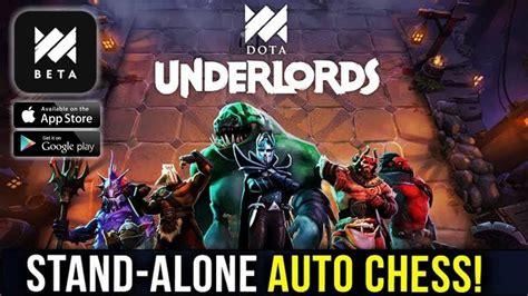 dota underworlds mobile versi dari auto chess by valve kah android ios gameplay youtube