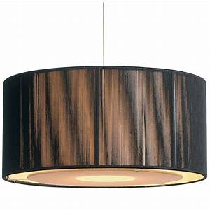 Easy fit black gold ceiling light shade drum shaped modern lighting