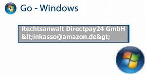 Inkasso Amazon De : rechtsanwalt directpay24 gmbh internet betrug abzocke ~ Orissabook.com Haus und Dekorationen