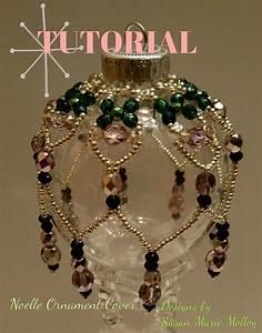 TUTORIAL Noelle Beaded Christmas Ornament Cover Seed Bead