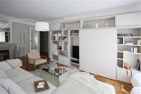 renovation cuir canapé meuble tv sur mesure avec portes coulissantes pour faire