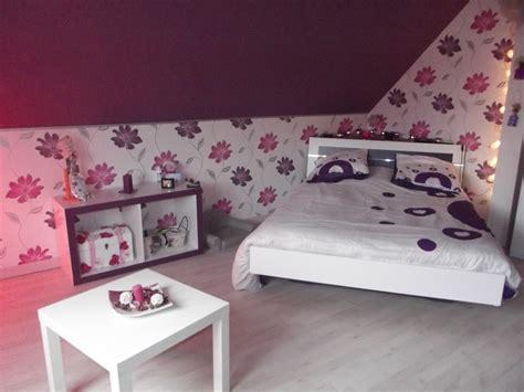 chambre grise et prune chambre prune blanc et fushia photo 5 6 3515502