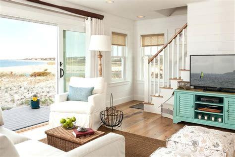 beachy tv stand burlap window treatments living room beach