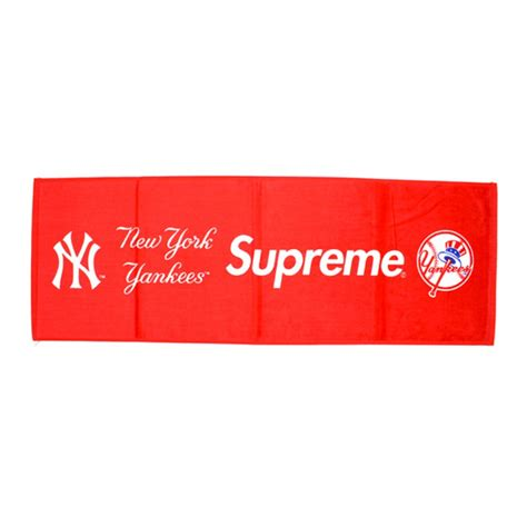 supreme new york supreme new york yankees towel