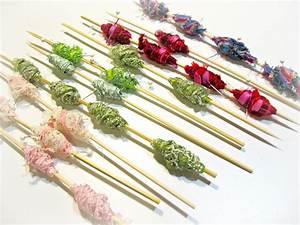 Blukatkraft  Wire Wrapped Fabric Beads