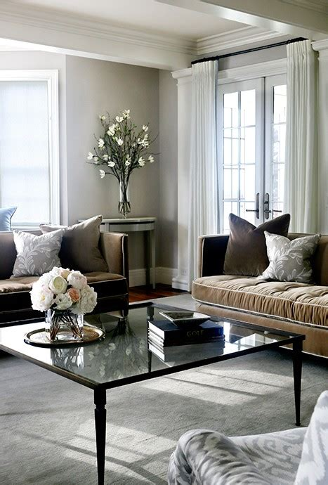 Grey Living Room Brown Sofa by Brown Velvet Sofas With Gray Pillows Transitional