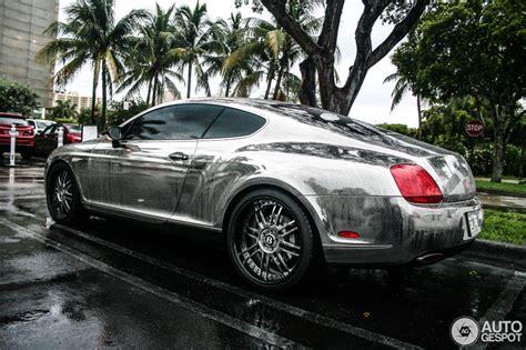 Summer Rain On Chrome Bentley