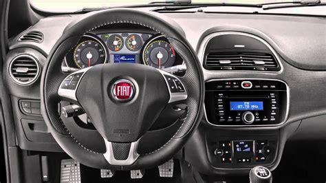 car interior fiat punto 2014
