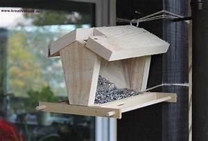 Pyramide Aus Holz Selber Bauen : vogelfutterhaus holz selber bauen ~ Lizthompson.info Haus und Dekorationen
