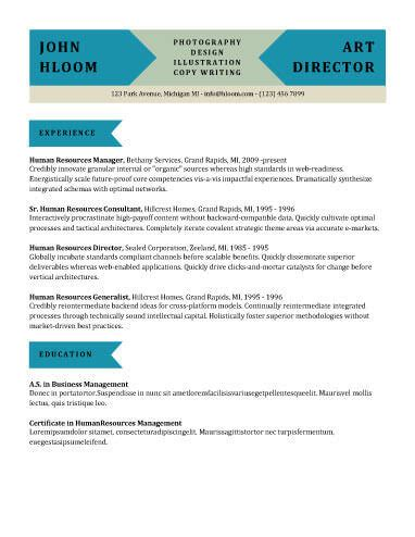 Resume Block Format by Modern Resume Templates 64 Exles Free