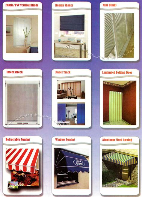 fabricpvc blinds roman shades insect screen panel
