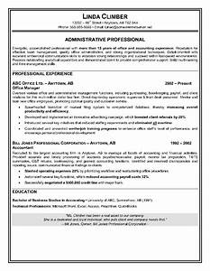 administrative assistant resume sample will showcase With how to write a resume for an executive position