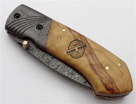 best knives for kitchen damascus folding liner lock knife custom handmade damascus