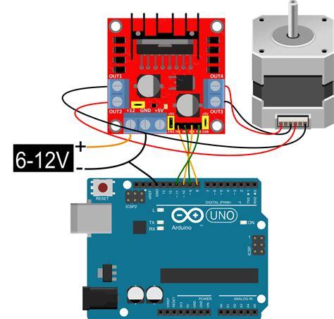 Arduino + Stepper (l298n) Coeleveldcom