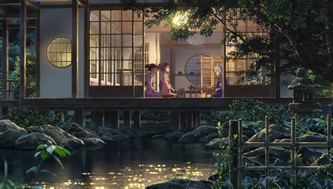 kimi  na wa anime scenery wallpaper anime scenery