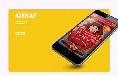 Kitkat Chinese Behance Jia Hou Animation