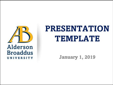 templates alderson broaddus university