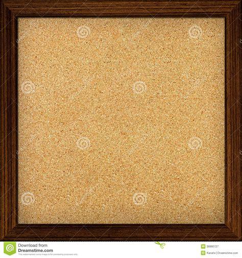 panneau affichage bureau panneau d 39 affichage vide de liège de bureau photo stock