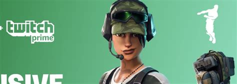 How To Claim The Free Fortnite Twitch Prime Pack 2 Loot