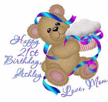 21st Birthday Happy Clip Clipart Graphics Glitter