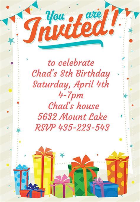 10+ Party Invitation Templates FreeCreatives