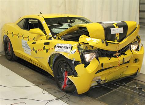 2012 Chevrolet Camaro Gets First Perfect Nhtsa Crash Test