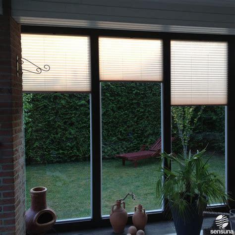Sichtschutz Fenster Wintergarten by W 228 Rmeschutz Plissees F 252 R Den Wintergarten Wintergarten