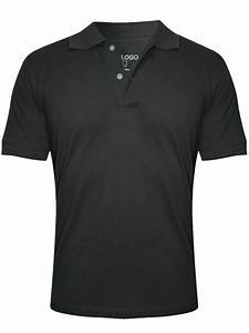 Buy T-shirts Online Nologo Dark Grey Polo T-shirt