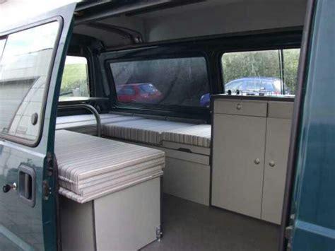 L300 Camper Van Interior
