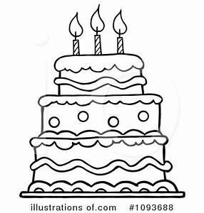 Birthday cake clip art happy birthday idea polyvore ...