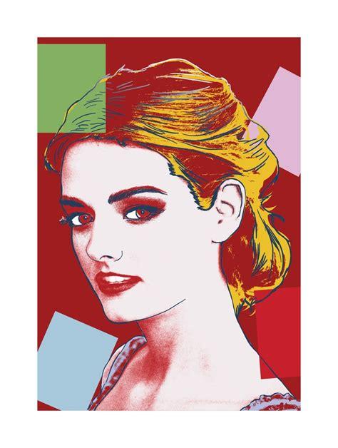 portrait sur toile a partir d une photo 17 best images about styles de portraits pop par personal on warhol nelson
